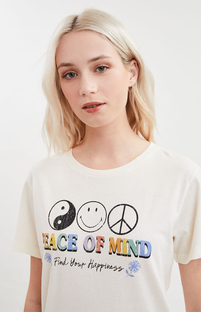 x Smiley Peace Of Mind T-Shirt