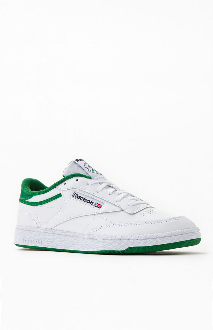 White & Green Anniversary Club C Shoes