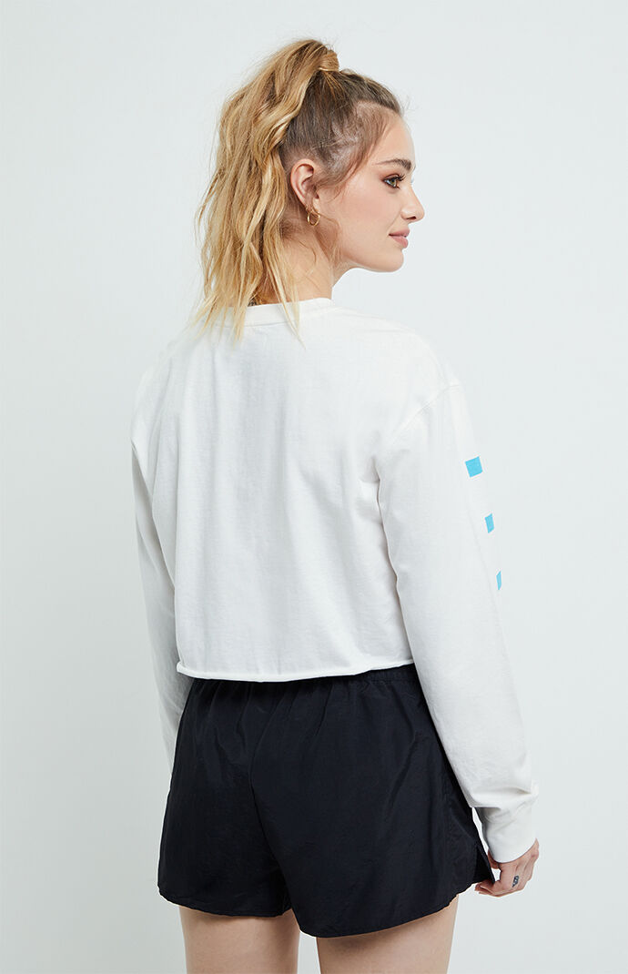 Long Sleeve Cropped T-Shirt