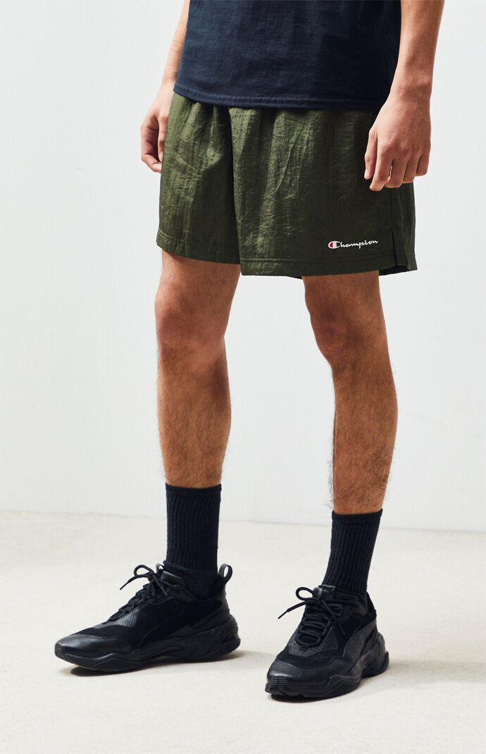 Nylon Active Shorts