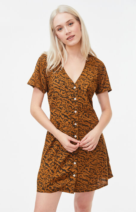 Guilt Button-Up Dress