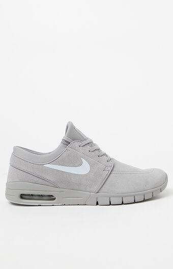 Stefan Janoski Max L Silver Shoes
