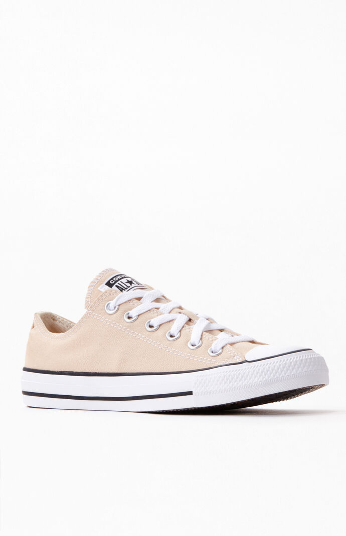 Women's Tan Chuck Taylor All Star Low Sneakers