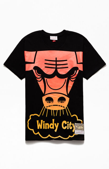 Bulls Flames T-Shirt