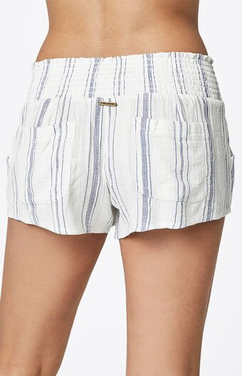 Waves For Days Striped Soft Shorts
