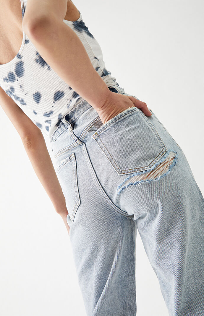 Light Blue '90s Boyfriend Jeans
