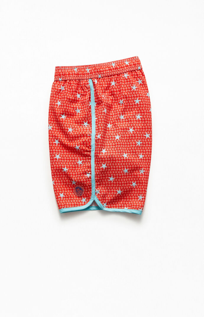 "Star Fish 18"" Swim Trunks"