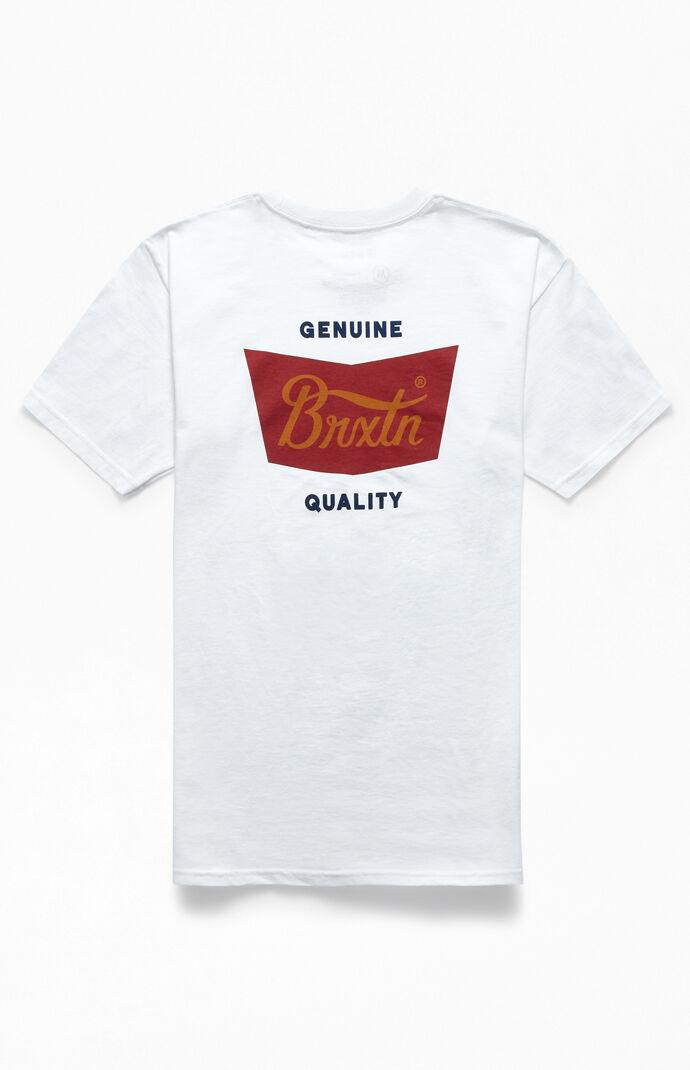 White Stith T-Shirt