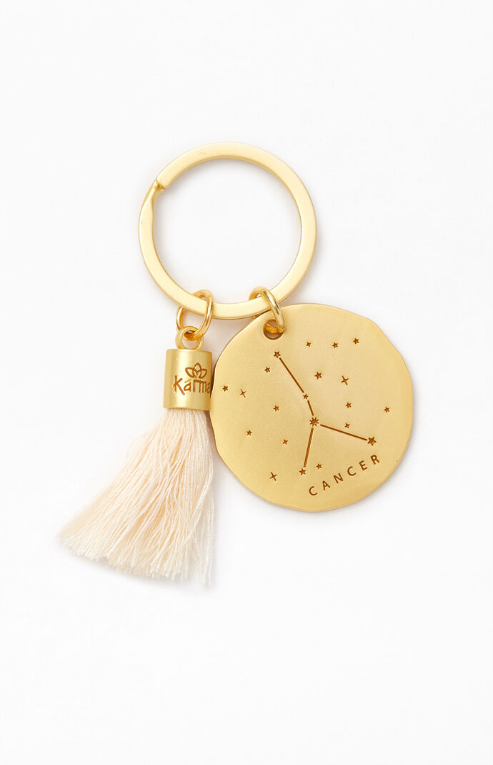 Cancer Zodiac Keychain