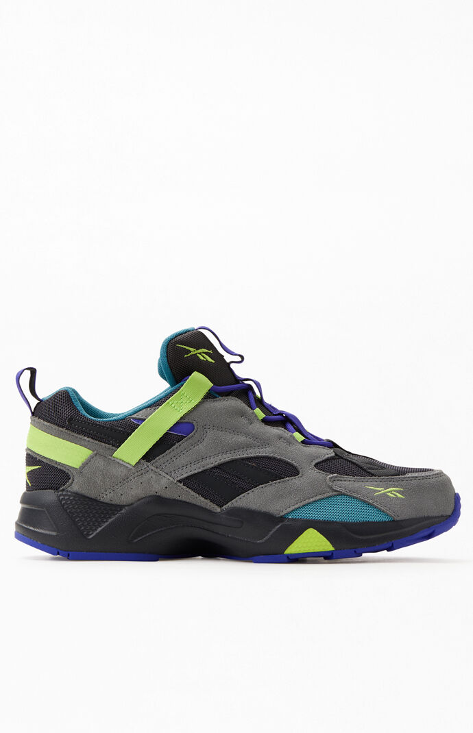 Grey & Purple Aztrek 96 Adventure Shoes