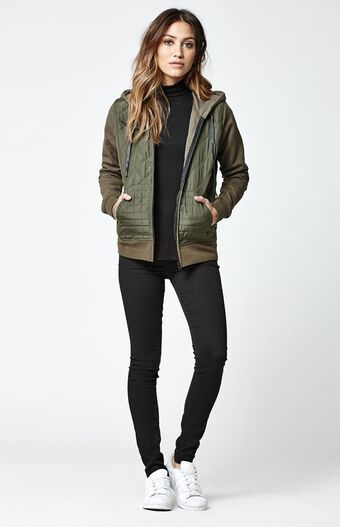 Hurley Rocky Quilted Hooded Jacket at PacSun.com : quilted hooded jacket - Adamdwight.com
