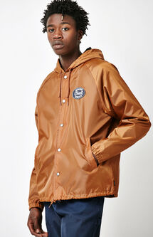 Merced Hooded Coach Jacket