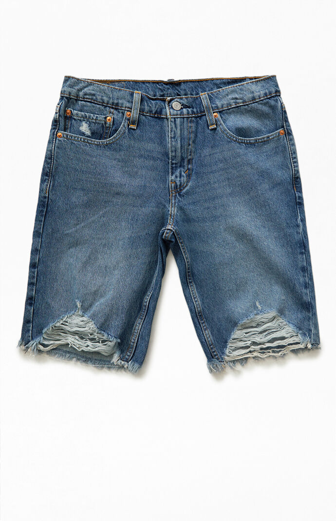 Indigo Blue 511 Slim Cutoff Denim Shorts