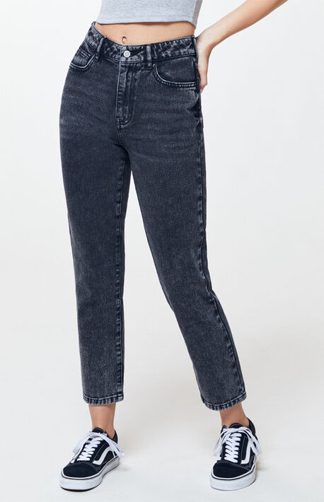 16aab4e5b83626 Beverly Wash Mom Jeans