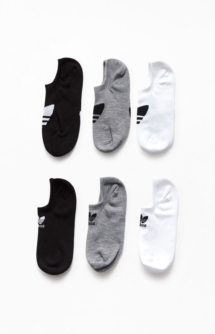 Six Pack Super No Show Socks