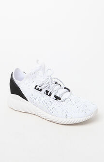 Tubular Doom Sock Primeknit White & Black Shoes