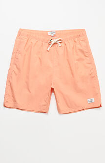 "Oliver Solid Color 17"" Swim Trunks"