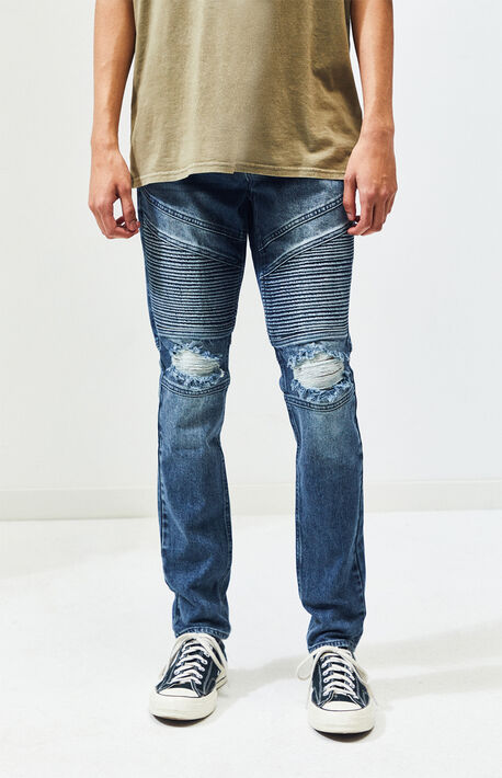 d9582e00 Medium Moto Stacked Skinny Jeans
