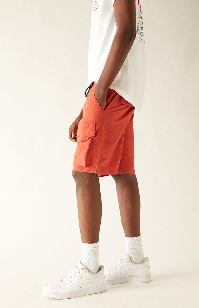 Emmet Nylon Front Pocket Shorts