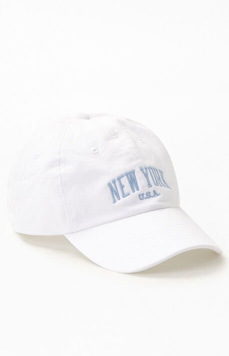 Cream New York Dad Hat