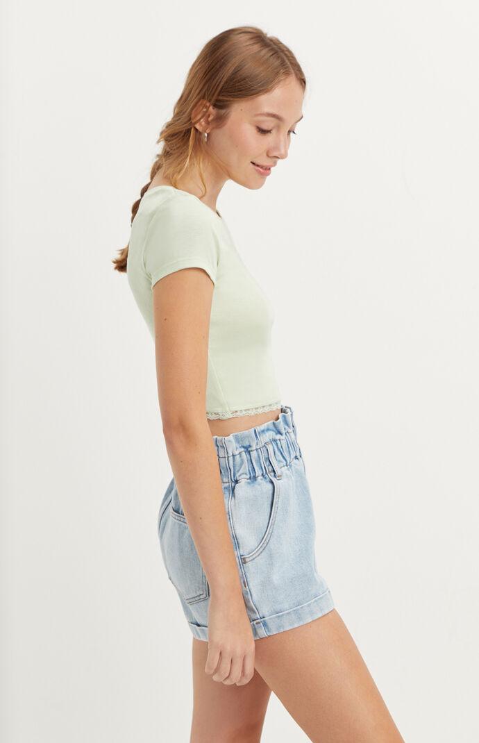 Rushed Lace T-Shirt