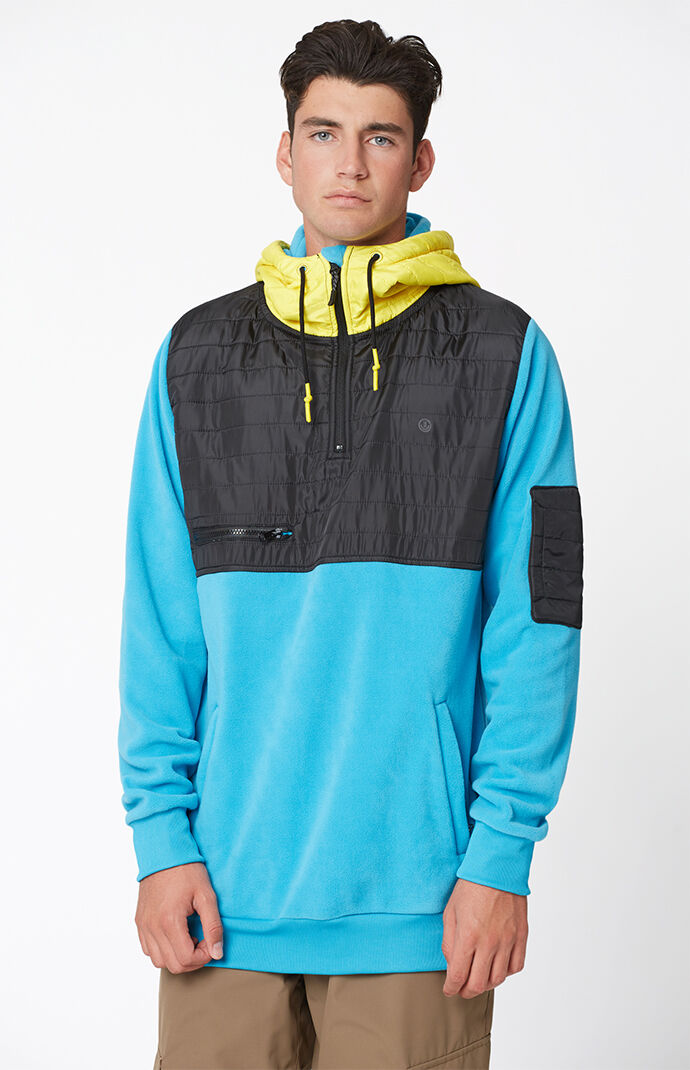 Neff Lifts Shredder Riding Pullover Hoodie - Blue 6843742