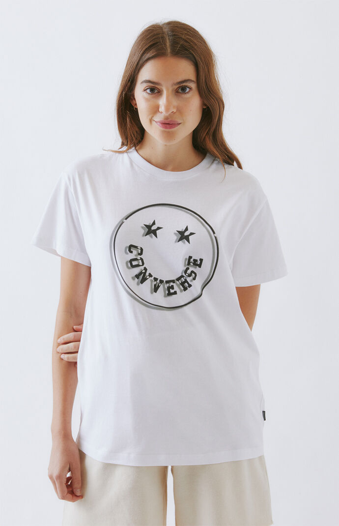 White Happy Camper T-Shirt
