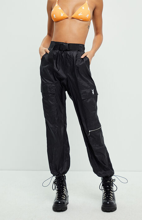 By PacSun Nylon Cargo Pants