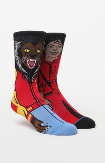 Michael Jackson Crew Socks