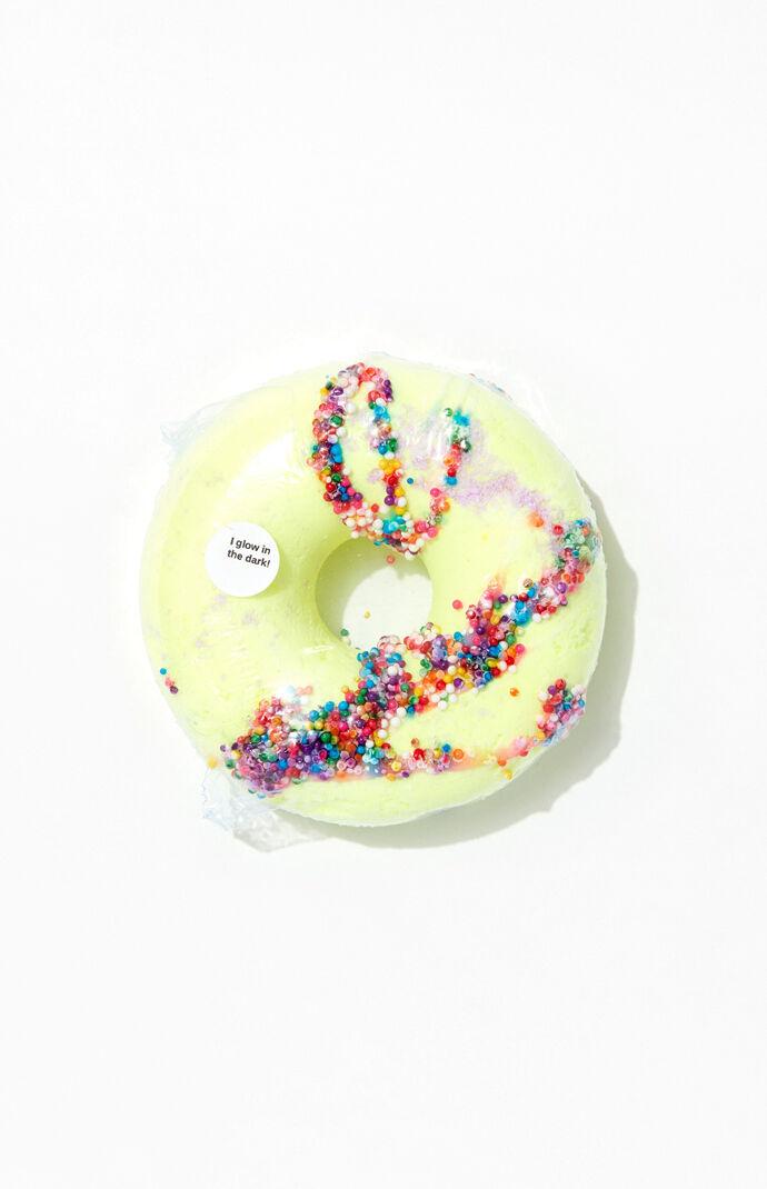 Yellow Donut Glow Bath Bomb