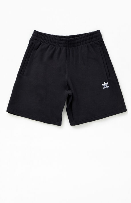 Black Essential Sweat Shorts
