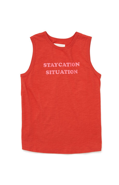 Staycation Situation Tank Top