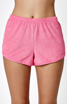 x PacSun Graphic Shortie Shorts
