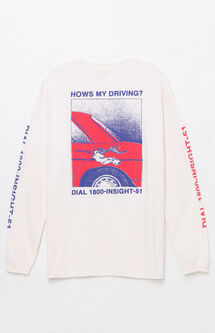 How's My Driving Long Sleeve T-Shirt