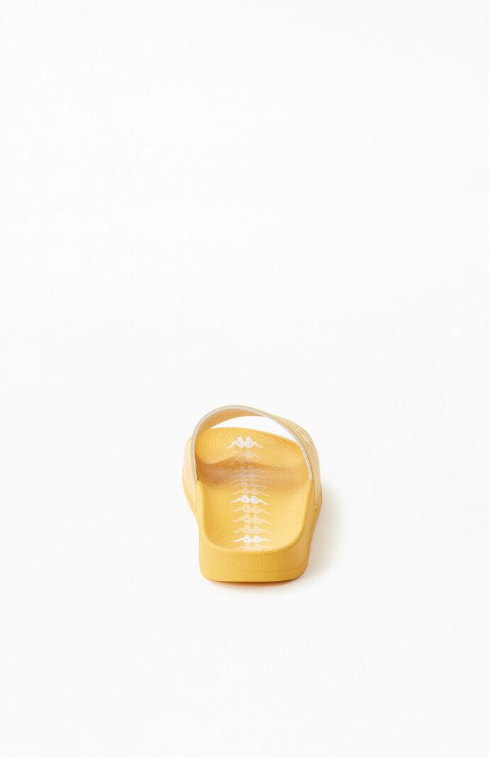 Women's Yellow Banda Adam Slide Sandals
