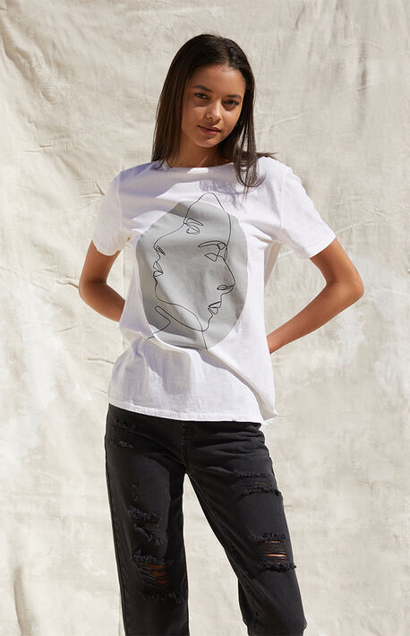 x Alilscribble Image Short Sleeve T-Shirt