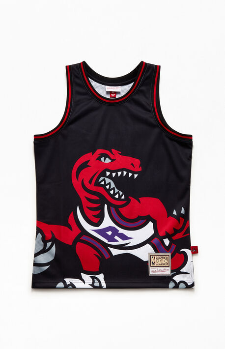 Big Face Raptors Basketball Jersey