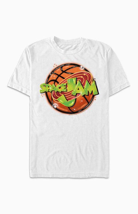 Space Jam Airbrushed Logo T-Shirt