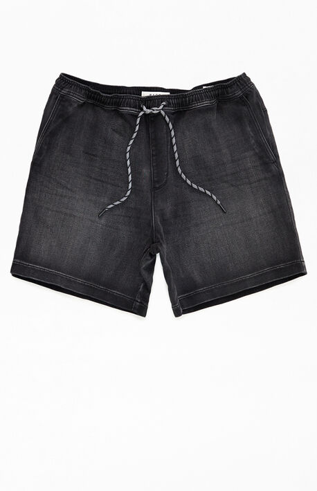Josiah Knit Denim Volley Shorts