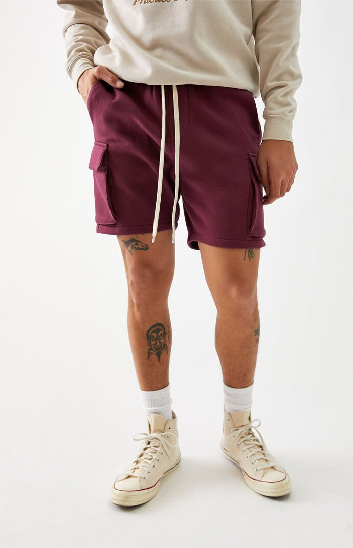 Cargo Fleece Volley Shorts