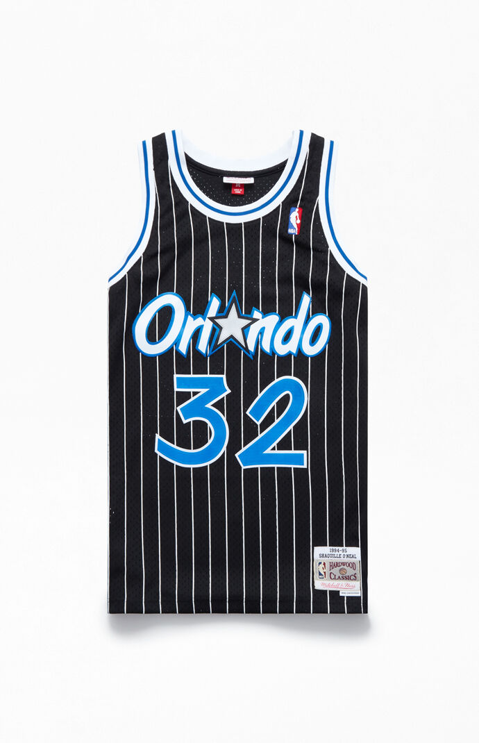 pretty nice 819c1 71973 Mitchell and Ness Orlando Magic Shaq Basketball Jersey | PacSun