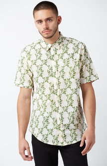 Bali Short Sleeve Button Up Shirt