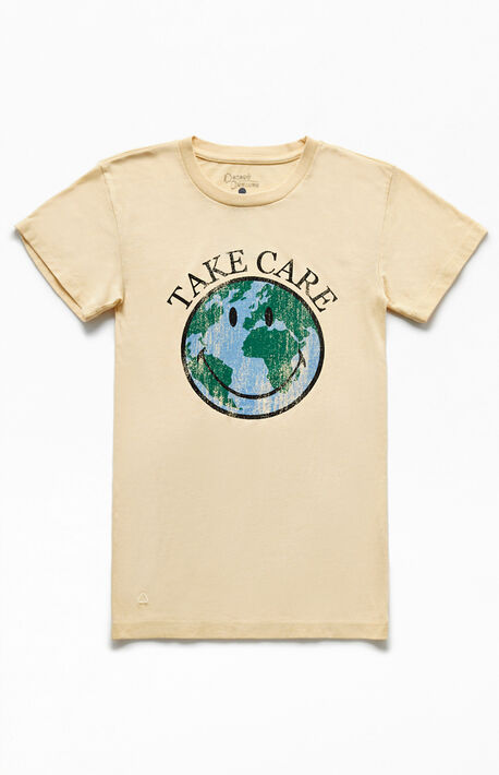 x Desert Dreamer Take Care Recycled T-Shirt