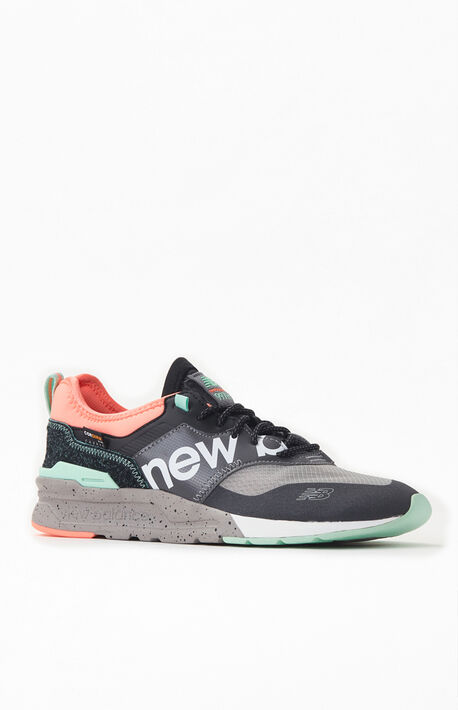 Grey & Pink 997H Shoes