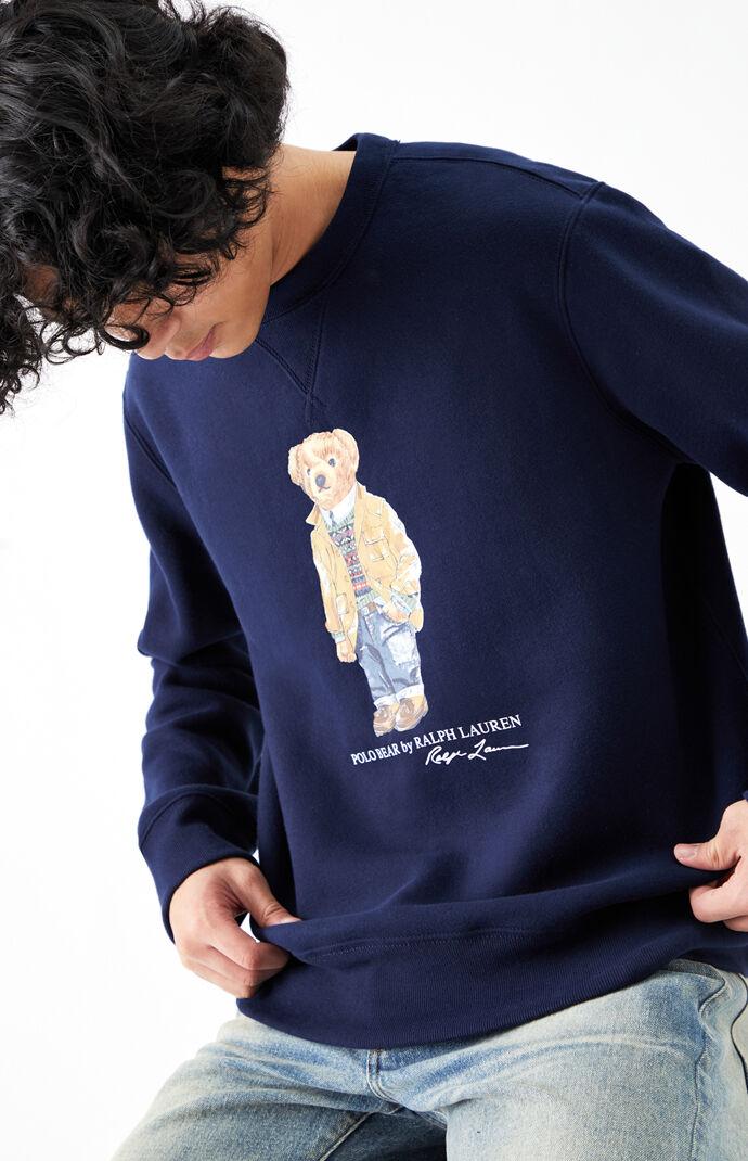 Polo Bear Crew Neck Sweatshirt