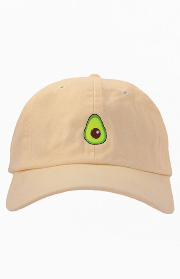 Mellow Yellow Avocado Dad Hat