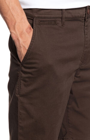 Brown Everyday Union Stretch Chino Shorts image number null