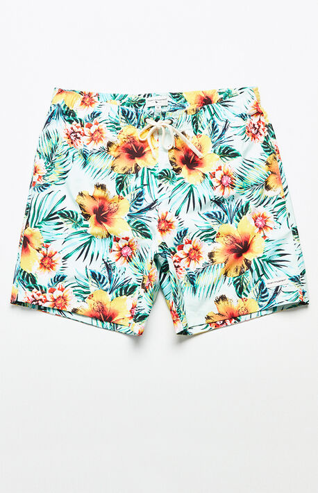 "Kona Tropical 17"" Swim Trunks"