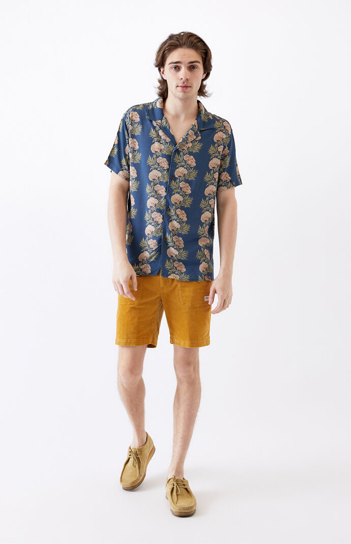 Honolulu Short Sleeve Button Up Shirt