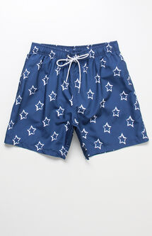"Stars Volley 16"" Swim Trunks"
